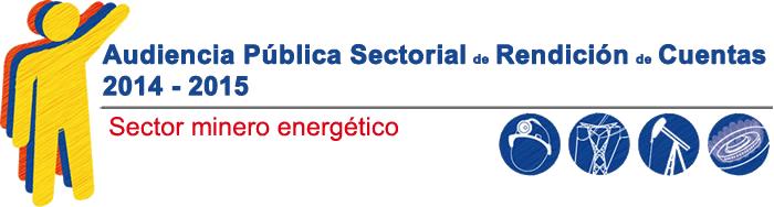 Audiencia publica SEctorialRendiciondecuentas 2014 2015