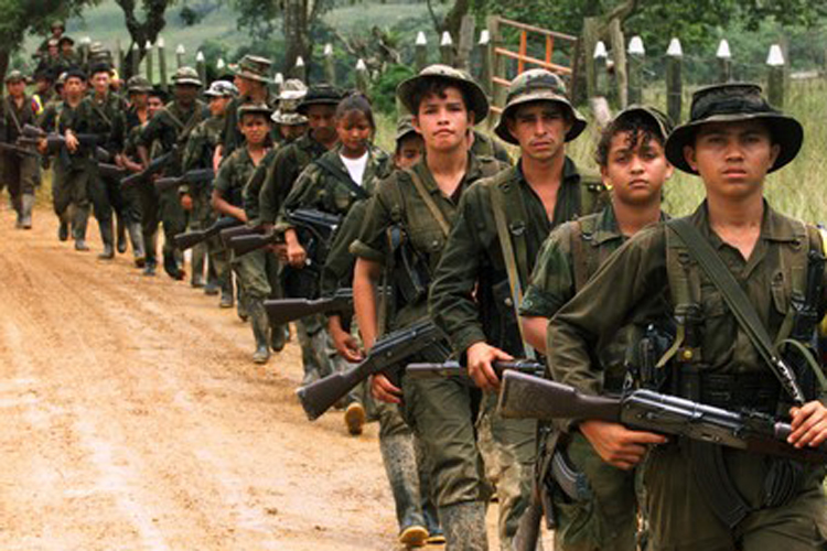 colombia farc MUJERES