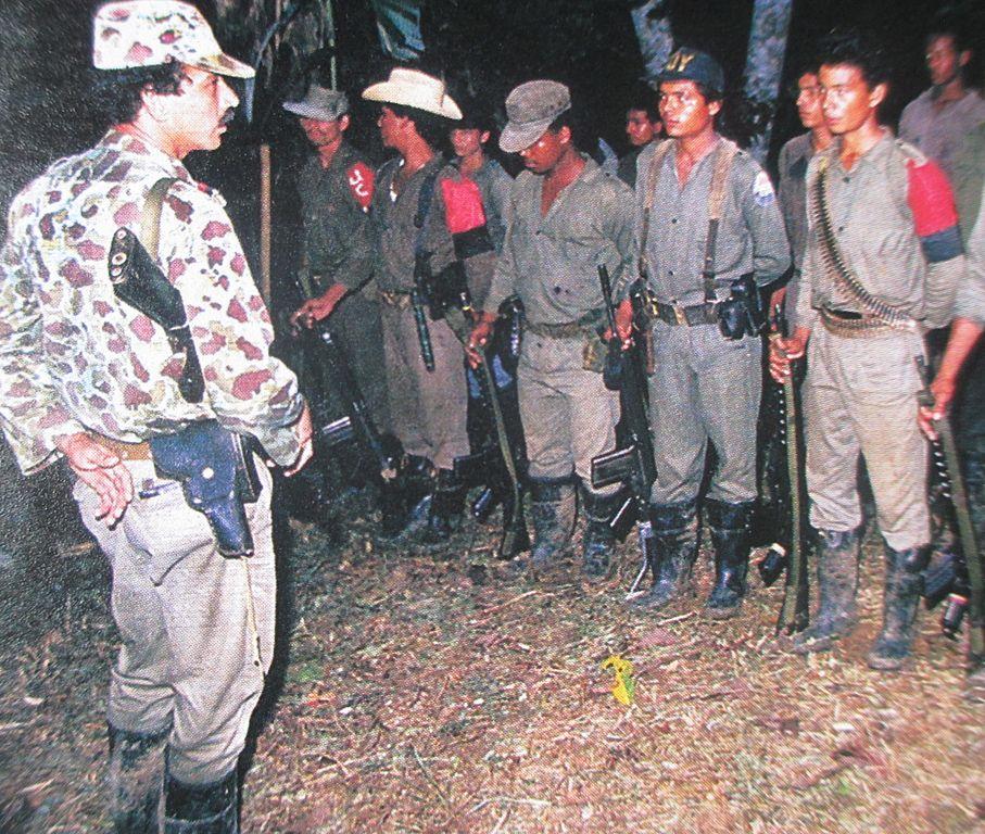 Miembros del Ejercito de Liberacion Nacional