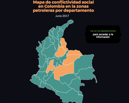Mapa colombia pulsoPetroleroJunio2017