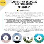 ¿Laguna de Tota amenazada por exploración petrolera?